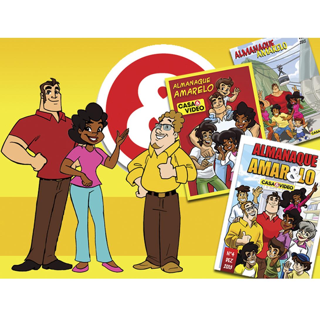 historia em quadrinhos casa e video
