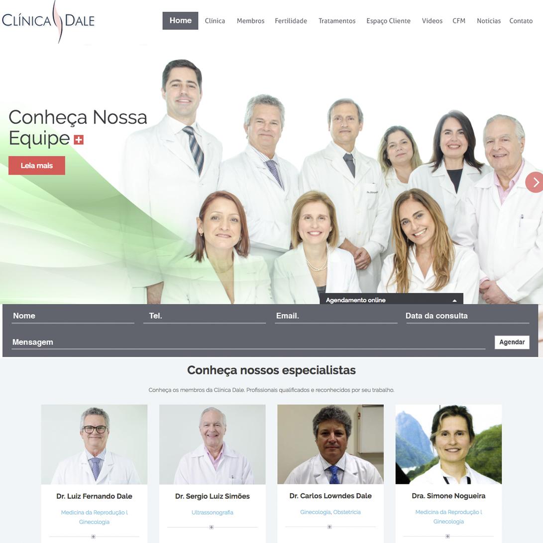 clinica_dale_web_site_design_fertilizacao_desenvolvimento