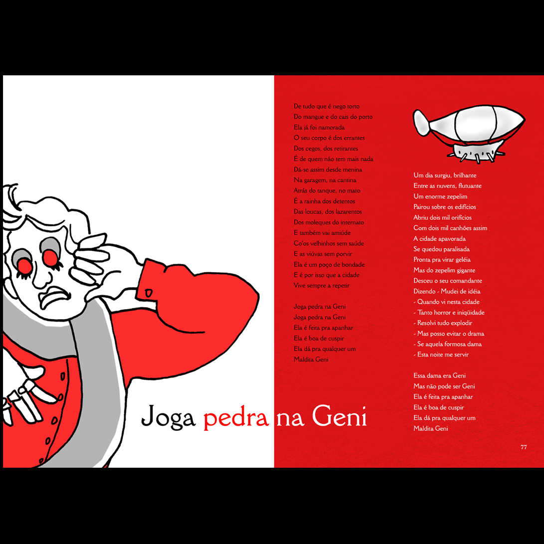 livro opera do malandro ilustrado