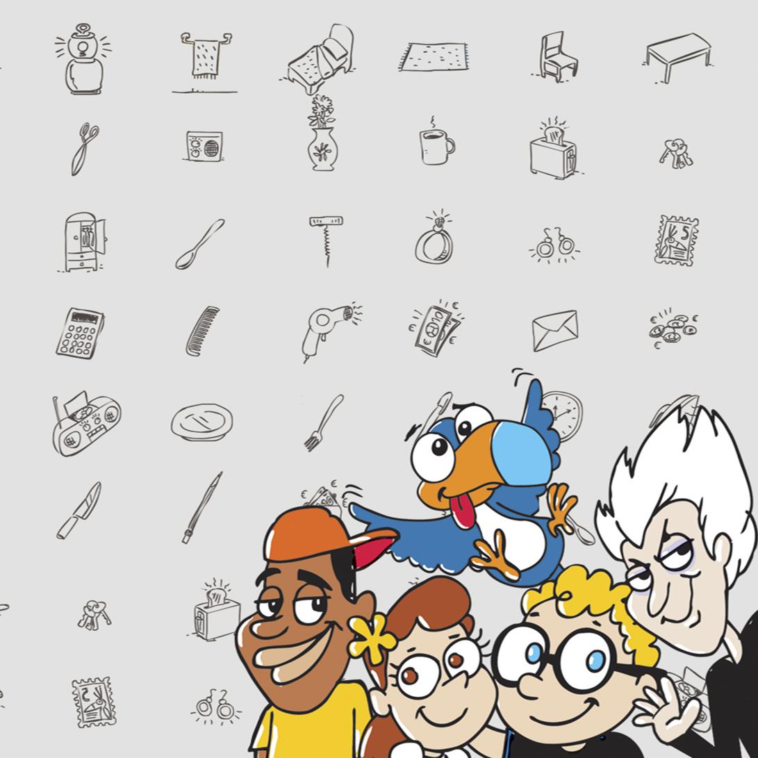criacao de personagens de livro infantil